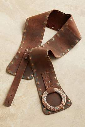 Soft Surroundings Talia Leather Belt