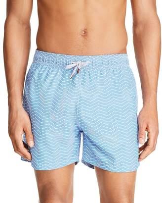 9eb8520dd04d3 Retromarine Groovy Lines Printed Swim Shorts