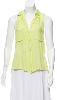Bella Dahl Sleeveless Button-Up Top w/ Tags