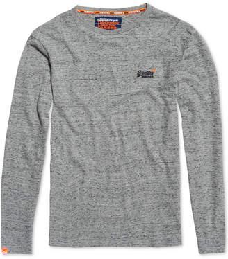 Superdry Men's Orange Label Embroidered Logo T-Shirt