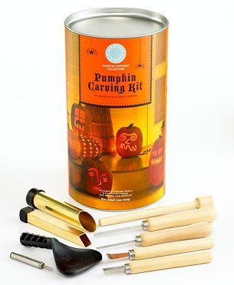 Martha Stewart Collection Pumpkin Carving Kit