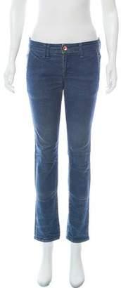 Chimala Mid-Rise Straight-Leg Jeans