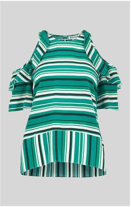 Whistles Resort Madison Stripe Silk Top