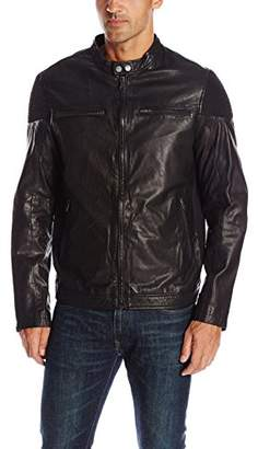 Rogue Men's Leather Motocycle Jacket