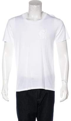 Balmain Lion Embroidered T-Shirt