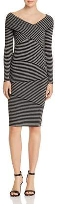 Bailey 44 Edamame Tiered Striped Dress