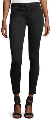 AG Legging Ankle Leatherette Light - Black $235 thestylecure.com