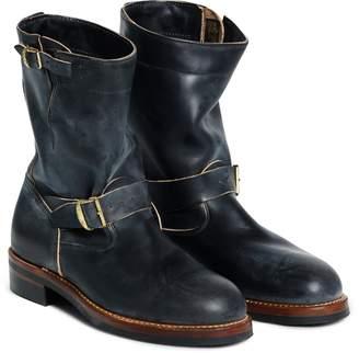 Ralph Lauren Leather Engineer Boot