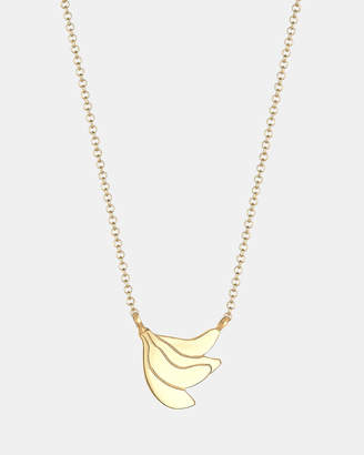 Necklace Pendants Banana Summer Tropical 925 Sterling Silver