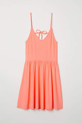 H&M Sleeveless Jersey Dress - Orange