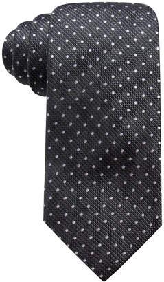 Club Room Men's Harkness Classic Dot Silk Tie