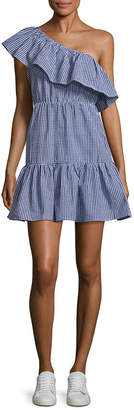 MinkPink Wanderer One-Shoulder Dress