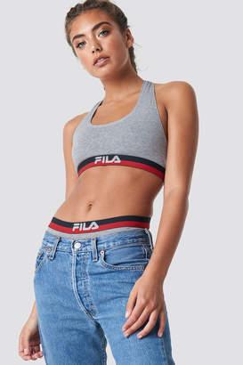 a4974b37cad95 ... Fila Logo Bra FU6048 Grey