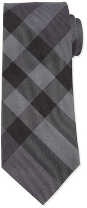 Burberry Forever Exploded-Check Silk Tie $190 thestylecure.com