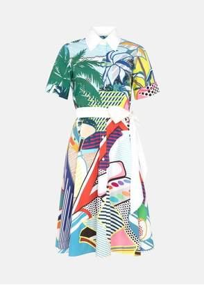 Mary Katrantzou Cecilia Dress Pop Art