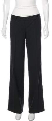 Robert Rodriguez Eyelet-Accented Mid-Rise Wide-Leg Pants