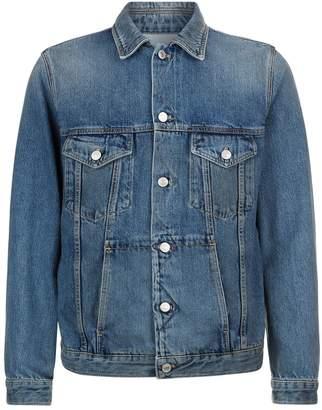 Givenchy Denim Logo Reverse Jacket