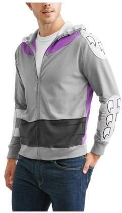 Teenage Mutant Ninja Turtles Men's Shredder Zip-Up Costume Hoodie