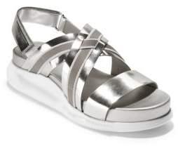Cole Haan Zerogrand Crisscross Platform Sandals