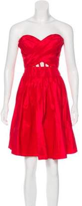 Marchesa Strapless Mini Dress w/ Tags