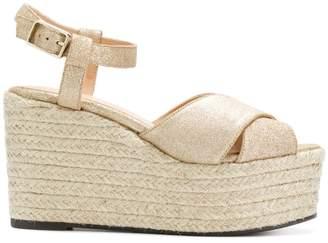 Castaner crisscross wedge sandals