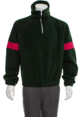 Gosha Rubchinskiy Half-Zip Fleece Pullover