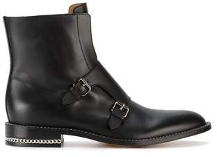 Givenchy Women's Black Leather Ankle Boots.