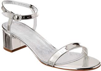 Mansur Gavriel Metallic Leather Ankle Strap Sandal
