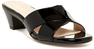 Taryn Rose Obert Mule Sandal $245 thestylecure.com