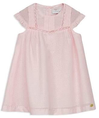 Tartine et Chocolat Girls' Lace-Trimmed Cotton Dress - Baby