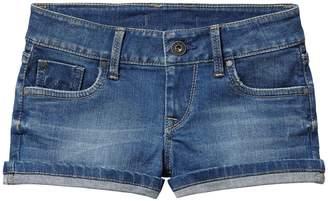 Pepe Jeans Denim Turn-Up Shorts, 8-16 Years
