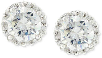 Giani Bernini Pave Cubic Zirconia Stud Earrings (1-3/4 ct. t.w.) in Sterling Silver, Created for Macy's