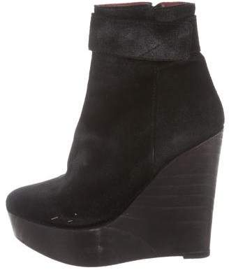 Opening Ceremony Wedge Ankle Boots
