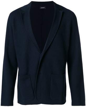 Z Zegna classic knitted cardigan