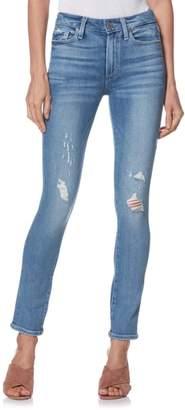 Paige Hoxton High Waist Ankle Peg Jeans