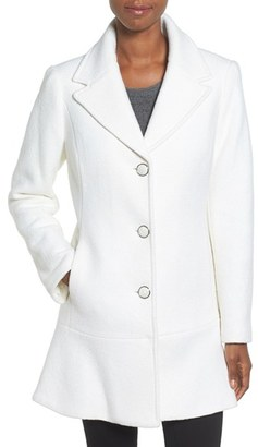 Women's Kensie Notch Lapel Peplum Coat $228 thestylecure.com