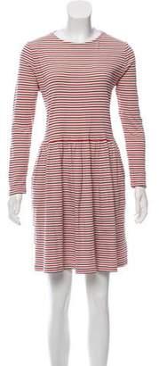 Chinti and Parker Stripe Mini Dress