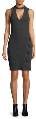 WAYF Monica Choker Mini Dress