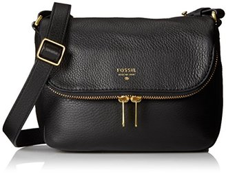 Fossil Preston Small Flap Cross Body Bag $127.92 thestylecure.com