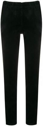 Kiltie slim-fit trousers