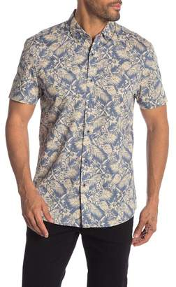 Report Collection Tropical Print Short Sleeve Shirt