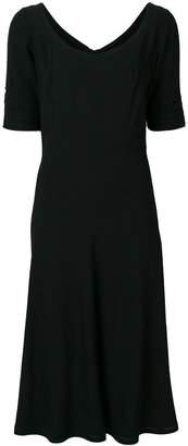 Ermanno Scervino crepe dress