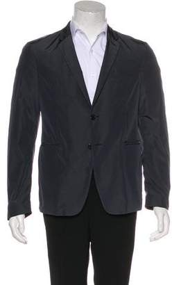 Prada Sport Two-Button Nylon Blazer