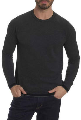 Robert Graham Ray Brook Waffle-Knit Sweater