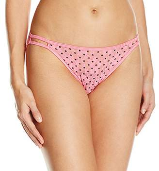 Vanity Fair Women's Body Shine Illumination String Bikini Panty $11.50 thestylecure.com