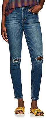 Current/Elliott Women's The High Waist Ankle Jeans