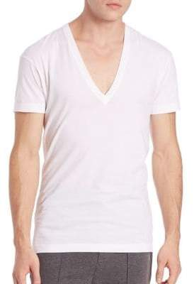 2xist Pima Cotton Slim-Fit V-Neck Tee