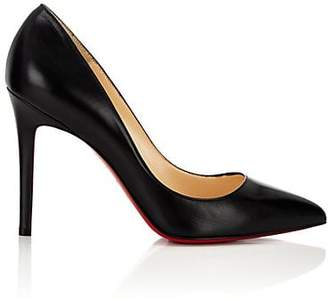 Christian Louboutin Women's Pigalle Leather Pumps - Black