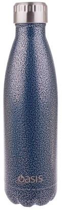 Oasis Insulated Drink Bottle 500ml Hammertone Blue