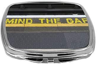 Gap Rikki Knight Mind The on London Subway Underground Design Compact Mirror